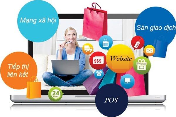 Kinh doanh online qua nhiều kênh giúp tối đa hóa doanh thu hiệu quả hơn.