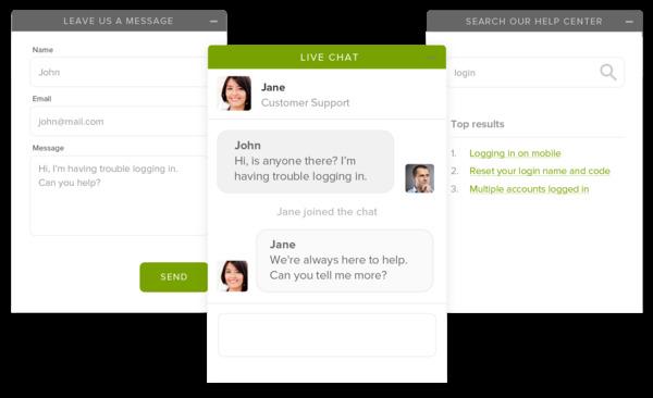Cần tính năng chat online khi thiết kế web
