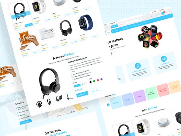 Sử dụng các tính năng thiết kế hàng đầu để tạo ra giao diện hiện đại, hấp dẫn cho website thương mại điện tử của doanh nghiệp